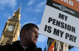Greva generala in Marea Britanie - 2 milioane de oameni asteptati in strada