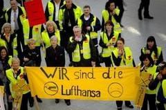 Greva generala la Lufthansa, luni: Toate zborurile interne, afectate