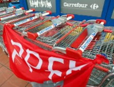 Greva generala la magazinele Carrefour din Belgia