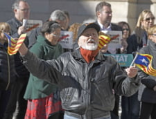 Greva in Catalonia, la apelul separatistilor: Autostrazi si trenuri blocate, scoli inchise