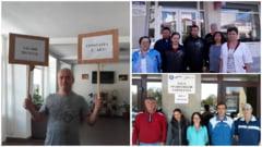 Greva japoneza! Grupul sindical al DJST Constanta a tras un nou semnal de alarma (galerie foto)
