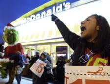 Greva la fast-food pe tot cuprinsul Americii