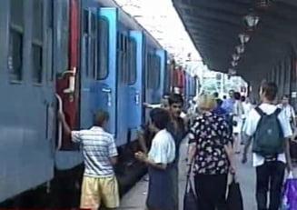 Greva spontana la CFR: 8 trenuri blocate in gari