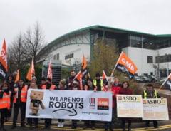 Greve la Amazon in Spania, Germania si M.Britanie de Black Friday: Nu suntem roboti!