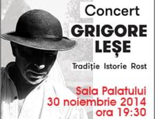 Grigore Lese, concert al sufletului de roman, in prag de sarbatori