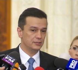 Grindeanu tot nu vrea sa spuna presei ce va face cu Iordache: Decizia mea e luata. Mi-ati dat o idee ieri