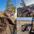 """Gropi săpate cu excavatorul, în cimitirele din Slobozia. Directorul Domeniului Public: """"Vaccinați-vă ca să nu vă rămână copiii singuri pe lume!"""""""