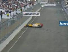 """Grosjean """"imita"""" accidentul lui Piquet in Singapore (Video)"""
