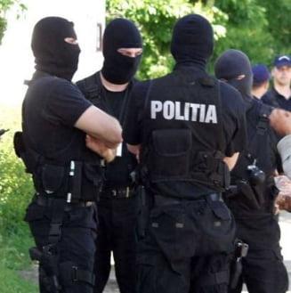 Grup infractional anihilat de DIICOT Vrancea
