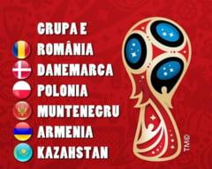 Grupa dificila pentru nationala Romaniei in preliminariile Campionatului Mondial din 2018