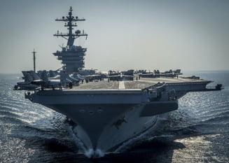 Grupul de lupta condus de portavionul Ronald Reagan se afla in Marea Chinei de Sud