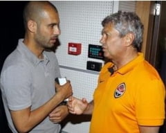 Guardiola i-a transmis un mesaj lui Mircea Lucescu