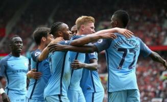 Guardiola l-a invins pe Mourinho: City a castigat derbiul din Manchester cu United