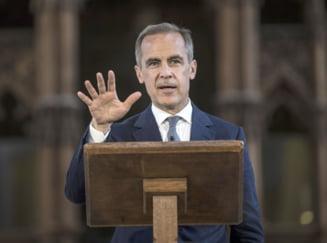 Guvernatorul Bancii Angliei, ingrijorat de un Brexit fara acord: riscul este alarmant de mare