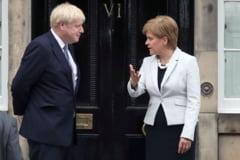 Guvernul Boris Johnson respinge cererea Scotiei privind un nou referendum de independenta