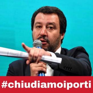 Guvernul Italiei pune egal intre ONG-urile care salveaza migranti si traficanti: Inchidem porturile pentru binele tuturor!