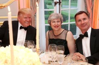 """Guvernul Marii Britanii denunta afirmatiile """"lipsite de respect"""" ale lui Donald Trump"""