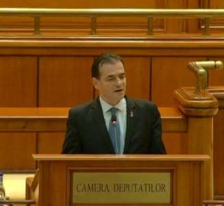 Guvernul Orban a trecut de Parlament. Urmeaza juramantul la Cotroceni, iar Dancila pleaca acasa