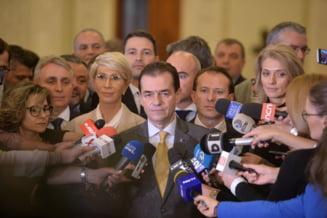 Guvernul Orban se voteaza abia pe 4 noiembrie. Ce formatiuni au batut palma cu PNL