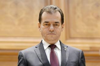 Guvernul Orban si-a asumat raspunderea pe buget si modificarile la OUG 114, cu aplauze de la PNL si atacuri de la PSD
