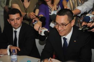 Guvernul Ponta: Patru ministri delegati, 11 tehnocrati asumati politic