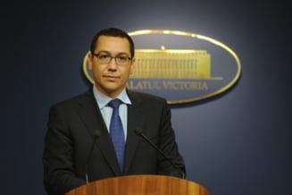 Guvernul Ponta retrage din Parlament proiectele de lege emise de Cabinetul MRU