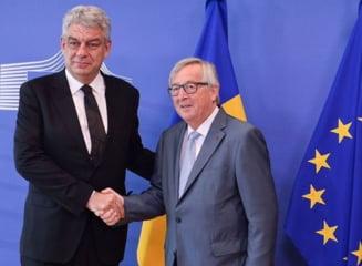 Guvernul Tudose a fost reclamat in premiera la Bruxelles din cauza conduitei ministrilor