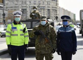 Guvernul a modificat statutul politistilor si militarilor. Se intrerup concediile de odihna, se suspenda pensionarea anticipata