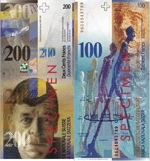 Foto: Banca Centrala a Elvetiei
