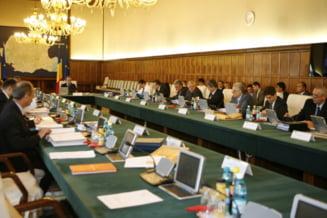Guvernul discuta miercuri legea salarizarii unice