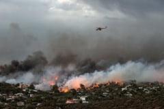 "Guvernul grec suspecteaza posibile ""acte criminale"" in cazul incendiilor si a deschis o ancheta"