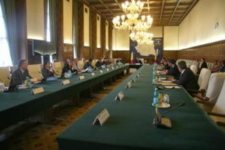 Guvernul interimar Boc amana intentionat discutarea bugetului