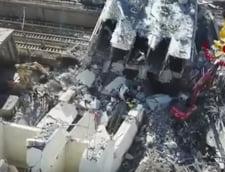 Guvernul italian decreteaza stare de urgenta pentru 12 luni la Genova, dupa prabusirea autostrazii