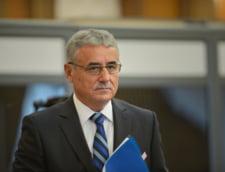 Guvernul l-a scos la inaintare pe vicepremierul Viorel Stefan pentru a raspunde criticilor lui Iohannis privind executia bugetara