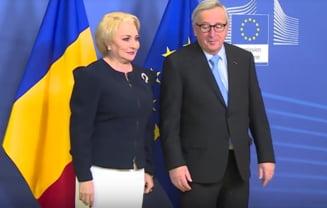 Guvernul pregateste la Bruxelles preluarea presedintiei UE. Dancila, intrebata de statul de drept si pierderea majoritatii de catre PSD