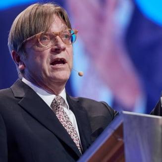 Guy Verhofstadt anunta dizolvarea grupului ALDE. Varujan Vosganian e confuz: Pana la urma, cine pleaca?!