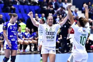 Gyor este castigatoarea Ligii Campionilor la handbal feminin, dupa o finala dramatica