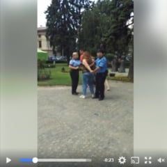 HALUCINANT! O tanara din Ploiesti a fost INCATUSATA si SMUCITA in vazul lumii. Fata nu avusese bilet RATP/ VIDEO