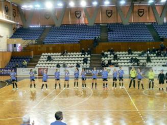 HC Dunarea a castigat la scor, 33-25, la CSU Cluj-Napoca