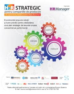 HR Strategic pentru companiile de productie