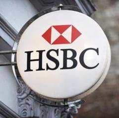 HSBC, dubla lovitura: Profit in picaj, scandalul de evaziune continua