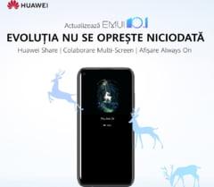 HUAWEI anunta programul de actualizare a sistemului de operare EMUI 10.1