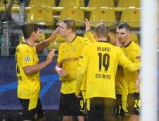 Haaland a facut spectatol in Bundesliga. Norvegianul a marcat patru goluri intr-un meci in care a debutat cel mai tanar jucator din istoria Germaniei