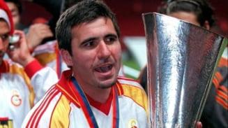 """Hagi mingicarul! UEFA ne aminteste cat de bun era """"Regele"""" VIDEO"""
