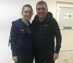 Hagi o lauda pe Simona Halep: Pana in semifinale se antreneaza!