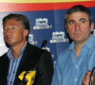 Hagi si Petrescu se bat pe un jucator din Liga 1