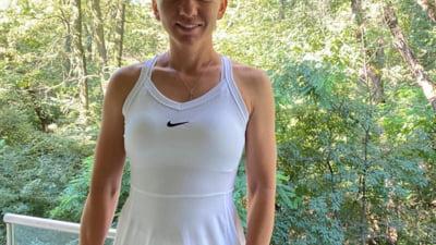 """Halep s-a imbracat cu rochita de la Wimbledon: """"Abia astept sa-mi apar trofeul anul viitor"""""""