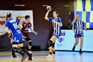 Handbal: Rapid Bucuresti - CSM Slatina 19-19