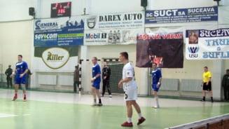 Handbal CS Universitatea Suceava a castigat la o diferenta de doar doua goluri jocul cu HC Esch
