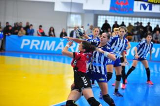Handbal feminin: Cupa Romaniei: optimi Zalau - Slatina